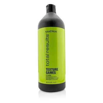 Matrix Total Results Texture Games Polymers Shampoo (For Texture)  1000ml/33.8oz