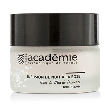Academie Aromatherapie Night Infusion Rose Cream (Unboxed)  30ml/1oz
