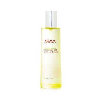 Ahava Deadsea Plants Dry Oil Body Mist - Prickly Pear & Moringa  100ml/3.4oz