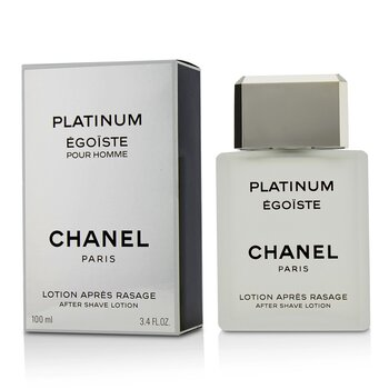 Chanel Egoiste Platinum Loción Para Después de Afeitar  100ml/3.3oz