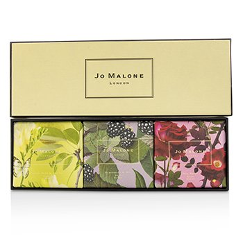 Jo Malone Soap Coffret : English Pear & Fressia / Blackberry & Bay / Red Roses  3pcs