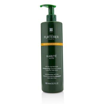 ルネ フルトレール Karite Nutri Nourishing Ritual Intense Nourishing Shampoo - Very Dry Hair (Salon Product)  600ml/20.2oz