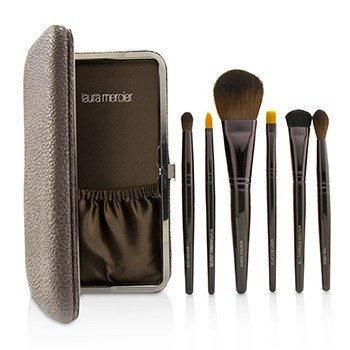 Laura Mercier Brush Up Colección de Brochas de Lujo  6pcs+1case