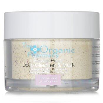 The Organic Pharmacy Flower Petal Глубоко Очищающая Маска - для Сияния Кожи  60g/2.14oz