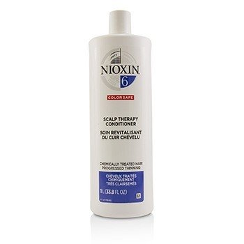 Nioxin Density System 6 Scalp Therapy Conditioner (Chemically Treated Hair, Progressed Thinning, Color Safe)  1000ml/33.8oz