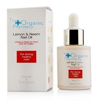 The Organic Pharmacy Lemon & Neem Nail Oil - Nourish & Strengthen  30ml/1oz