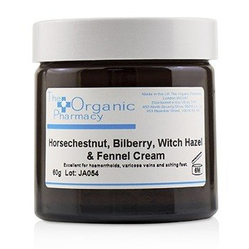 The Organic Pharmacy Bilberry Complex Cream - For Haemorrhoids, Varicose Veins & Aching Feet  60g/2.11oz