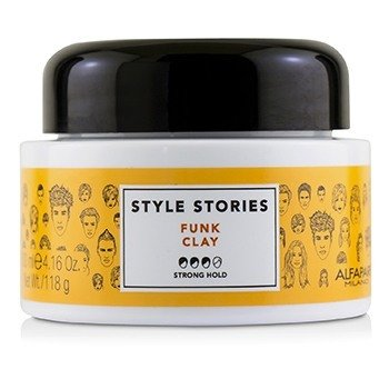 AlfaParf Style Stories Funk Arcilla (Agarre Fuerte)  100ml/4.16oz