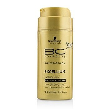 שוורצקופף BC Excellium Q10+ Omega 3 Taming Milk (For Coarse Mature Hair)  100ml/3.4oz