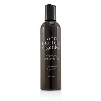 ジョンマスターオーガニック Shampoo For Normal Hair with Lavender & Rosemary  236ml/8oz