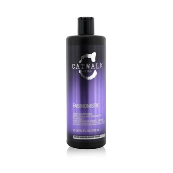 Tigi Catwalk Fashionista Violet Conditioner - For Blondes and Highlights (Not Pump)  750ml/25.36oz