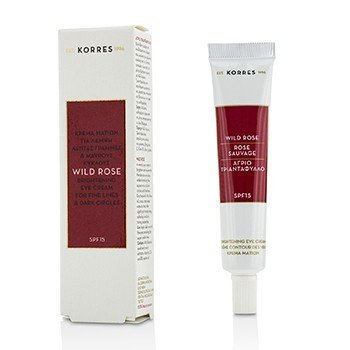 Korres  Wild Rose Brightening Eye Cream SPF15 (Exp. Date 09/2018)  15ml/0.51oz