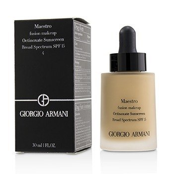 Giorgio Armani Maestro Fusion Make Up Foundation SPF 15 - # 4 (Exp Date. 09/2018)  30ml/1oz