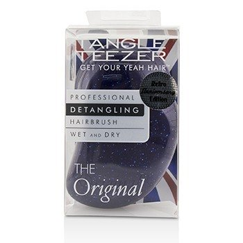 Tangle Teezer The Original Detangling Hair Brush - # Purple Glitter (For Wet & Dry Hair)  1pc