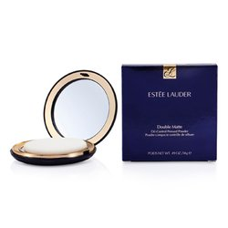 Estee Lauder Double Matte Oil Control Pressed Powder - No. 01 Light  14g/0.49oz