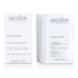 Decleor Mate & Pure Máscara facial Vegetal Pó - Mista e oleosa  ( Salon Size )  10x5g