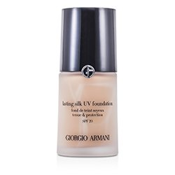 Giorgio Armani Dlouhotrvající hedvábný make up s UV ochranou Lasting Silk UV Foundation SPF 20 - č. 5 Warm Beige  30ml/1oz