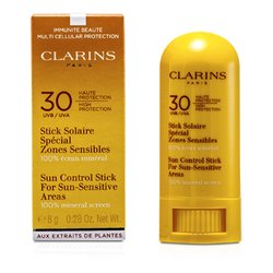 Clarins Sun Control Stick for Sun-Sensitive Areas SPF 30  8g/0.28oz