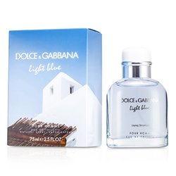 Dolce & Gabbana Light Blue Living In Stromboli Eau De Toilette Spray  75ml/2.5oz
