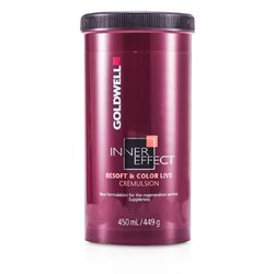 Goldwell Inner Effect Resoft and Color Live Cremulsion  450ml/15oz
