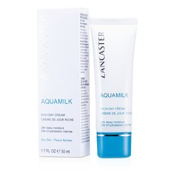 Lancaster Aquamilk Rich Day Cream - For Dry Skin Type  50ml/1.7oz