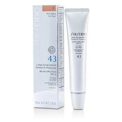 Shiseido Urban Environment Tinted UV Protector SPF 43 - # Shade 3  30ml/1.1oz