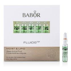 Babor Fluids FPF luido de Alga Activo (Humedad & Lípido, Para Piel Seca)  7x2ml/0.07oz