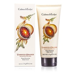 Crabtree & Evelyn Tarocco Orange, Eucalyptus & Sage Deep Cleansing Body Scrub  175g/6.2oz