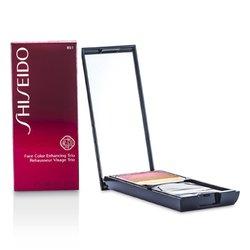 Shiseido Face Color Enhancing Trio - RS1 Plum  7g/0.24oz