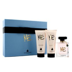 Lanvin Kit Me: Eau De Parfum Spray 80ml/2.6oz + Loção Para Corpo 100ml/3.3oz + Sabonete Liquido100ml/3.3oz  3pcs