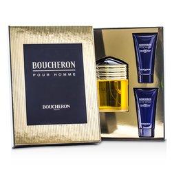 Boucheron Boucheron Coffret: Eau De Parfum Spray 100ml/3.3oz + 2x Soothing After Shave Balm 50ml/1.6oz  3pcs