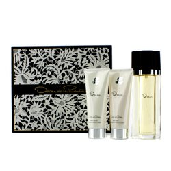 Oscar De La Renta Oscar Coffret: Eau De Toilette Spray 100ml/3.4oz + Body Lotion 100ml/3.4oz + Body Bath Gel 100ml/3.4oz  3pcs