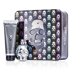 Police To Be The Illusionist Coffret: Eau De Toilette Spray 75ml/2.5oz + Champú Para Todo el Cuerpo 100ml/3.4oz  2pcs
