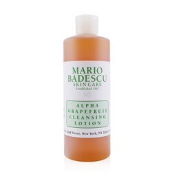 Mario Badescu Alpha Grapefruit Cleansing Lotion - For Combination/ Dry/ Sensitive Skin Types  472ml/16oz