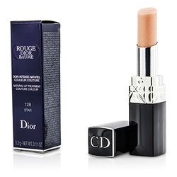 Christian Dior Rouge Dior Baume Natural Lip Treatment Couture Colour - # 128 Star  3.2g/0.11oz