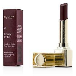 Clarins Rouge Eclat Satin Finish Age Defying Lipstick - # 20 Red Fuchsia  3g/0.1oz