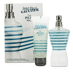 Jean Paul Gaultier Le Beau Male Coffret: Eau De Toilette Spray 75ml/2.5oz + Shower Gel 75ml/2.5oz  2pcs