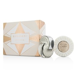 Bvlgari Omnia Crystalline Coffret: Eau De Toilette Spray 40ml/1.35oz + Scented Soap 150g/5.3oz  2pcs