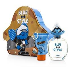 The Smurfs ชุด Brainy Coffret: สเปรย์น้ำหอม EDT 100ml/3.4oz + เจลอาบน้ำ Shower Gel 75ml/2.5oz + Key Chain  3pcs
