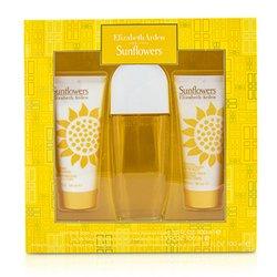 אליזבת ארדן מארז Sunflowers: או דה טואלט ספריי 100 מל + תחליב גוף 100 מל +קרם ניקוי לחות 100 מל  3pcs