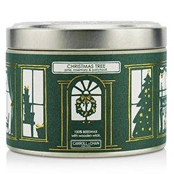 蠟燭世家  Tin Can Candle - Beeswax, Christmas Tree  (8x5) cm