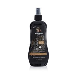Australian Gold Spray zselé Sunscreen Broad Spectrum SPF 8 azonnali bronzosítóval  237ml/8oz