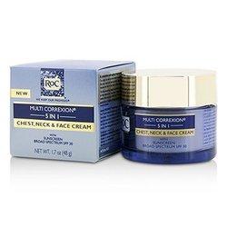 ROC Multi Correxion 5 in 1 Chest, Neck & Face Cream With Sunscreen Broad Spectrum SPF30  50ml/1.7oz