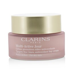 Clarins Multi-Active Day Targets Fine Lines Antioxidant Day Cream - For Dry Skin  50ml/1.6oz