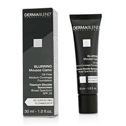 Dermablend Blurring Mousee Camo Oil Free Foundation SPF 25 (Medium Coverage) - #65W Amber  30ml/1oz
