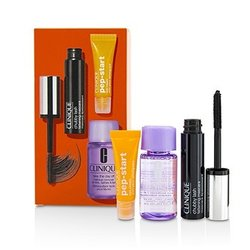 Clinique Chubby Lash Fattening Mascara Set (1x Mascara, 1x Eye Cream, 1x Makeup Remover)  3pcs