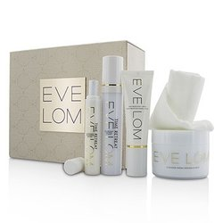 Eve Lom Restorative Ritual Set: Cleanser 200ml+Face Treatment 50ml+Eye Treatment 15ml+Daily Protection SPF 50 50ml+Muslin Cloth  5pcs