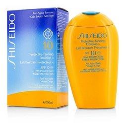 Shiseido Protective Tanning Emulsion N SPF 10 (For Face & Body)  150ml/5oz