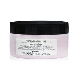 Davines Your Hair Assistant Prep Rich Balm Conditioner (For Thick and Treated Hair)  200ml/6.94oz