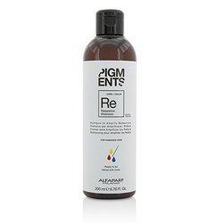 AlfaParf Pigments Reparative Shampoo (For Damaged Hair)  200ml/6.76oz